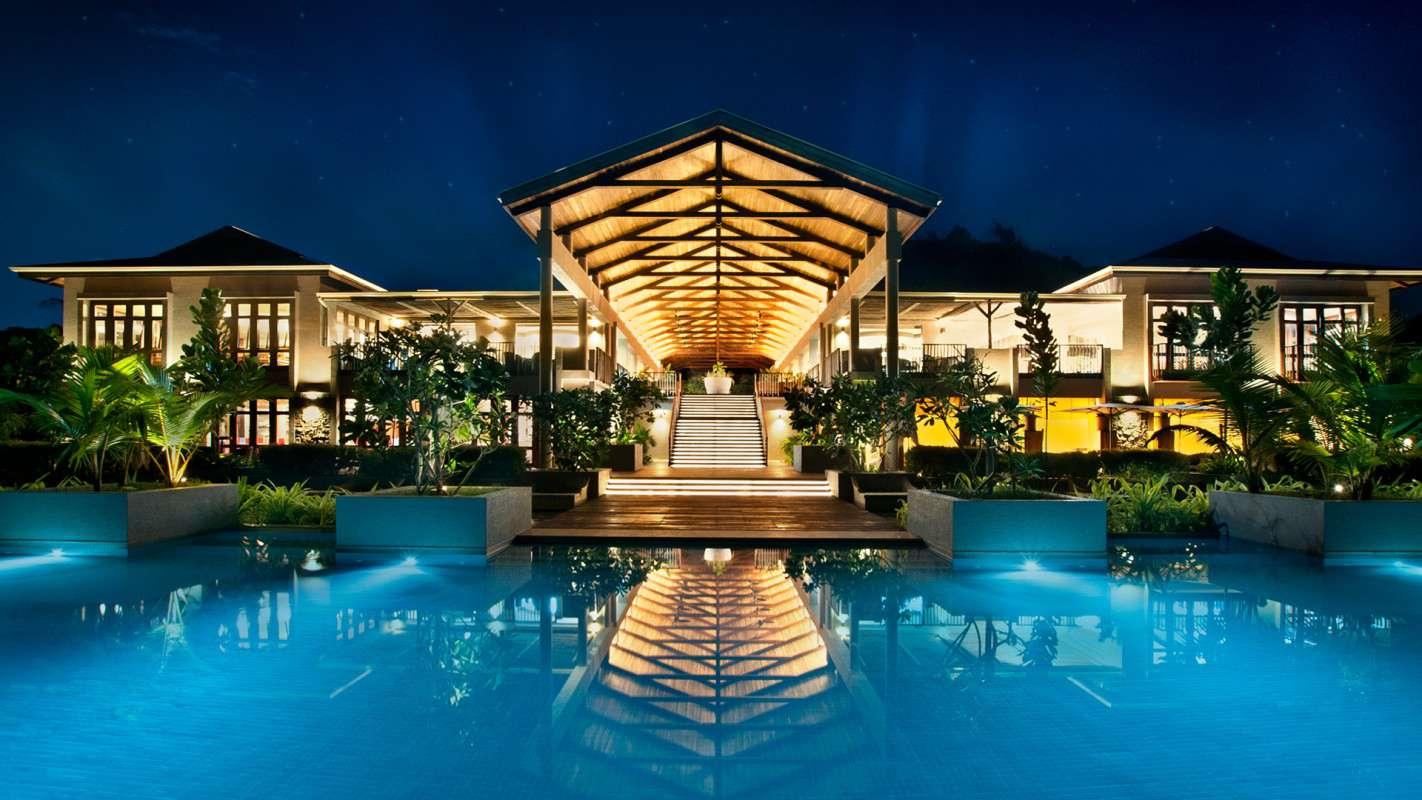 Kempinski seychelles resort on 1