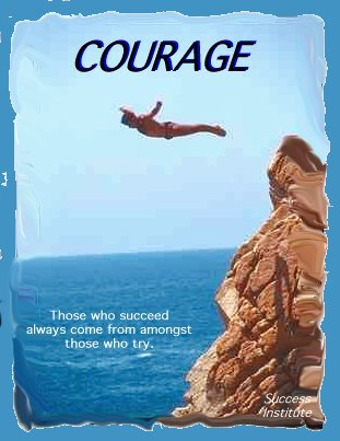 Courage.Diver