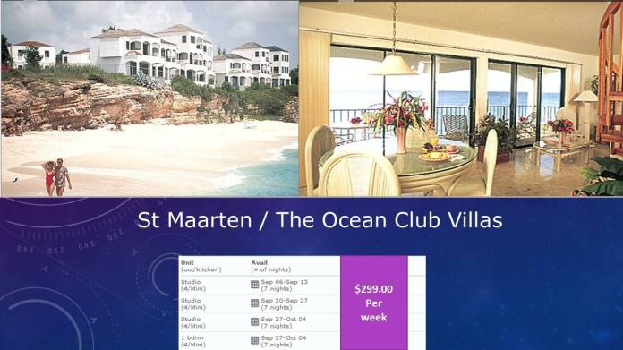 St Marteen Ocean Club Villas