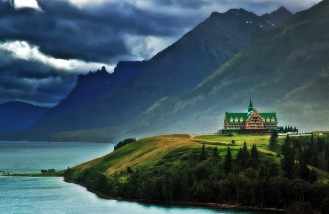Prince of Wales Hotel, Waterton National Park, Canada