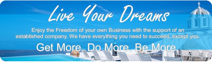 Live Your Dreams Banner